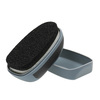 Sponge for polishing black footwear collonil, black , 990-6101 - 26