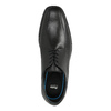 Leather Men's Shoes climatec, black , 824-6111 - 19