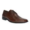Men's leather shoes bata, brown , 824-4722 - 13