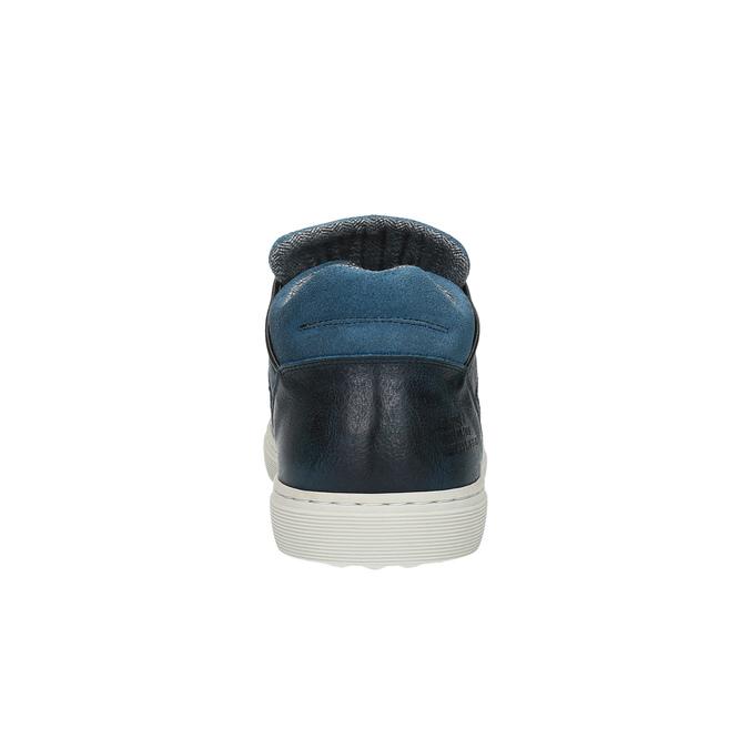 Men's sneakers bata, blue , 844-9624 - 17