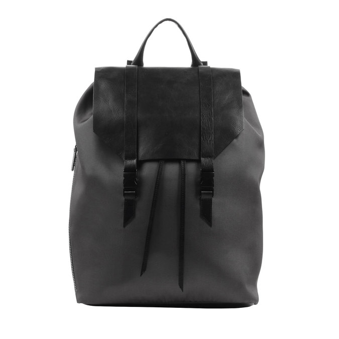 Black backpack royal-republiq, black , 964-6208 - 26