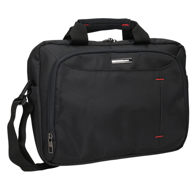Professional laptop bag, black , 969-2378 - 13