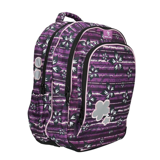 Purple school backpack belmil, violet , 969-5628 - 13