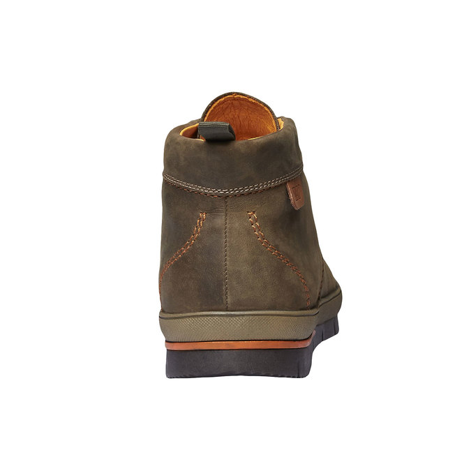 Leather sneakers weinbrenner, brown , 894-2209 - 17