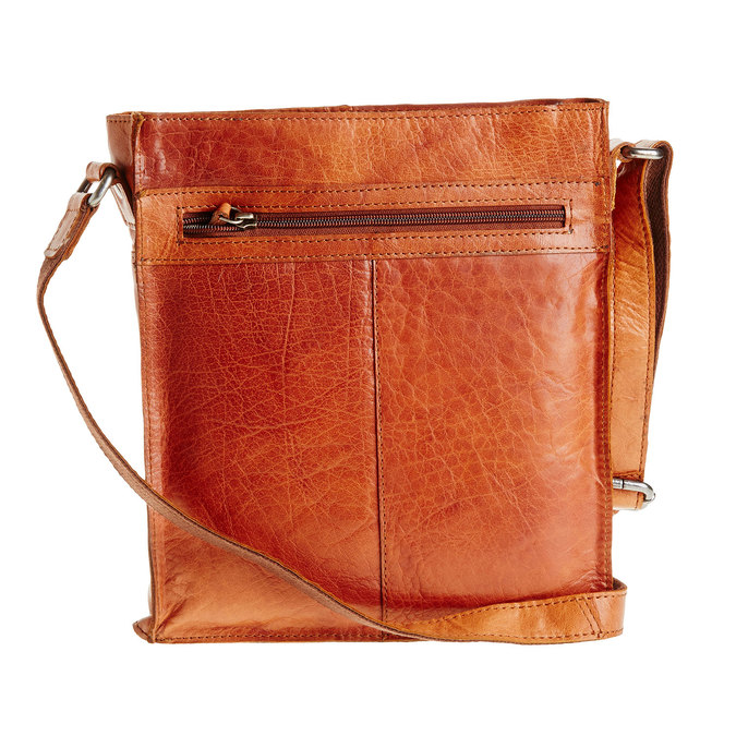 Men´s leather Crossbody bag bata, brown , 964-3141 - 26
