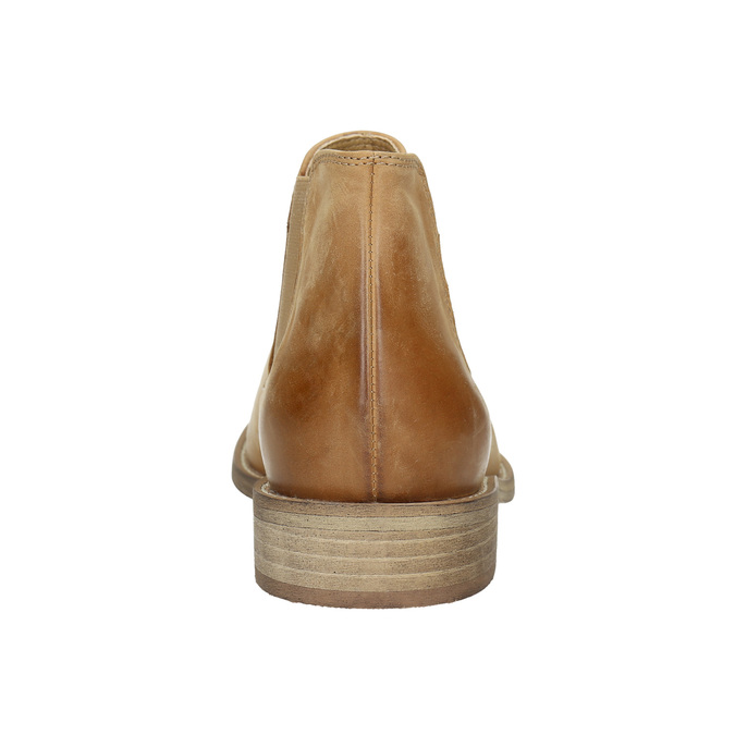 Leather Chelsea Boots bata, brown , 594-3432 - 17