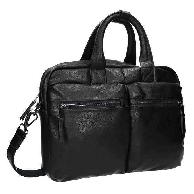 Black bag bata, black , 961-6521 - 13