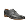 Men's leather Ombré shoes bata, gray , 826-2794 - 13