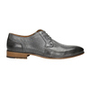Men's leather Ombré shoes bata, gray , 826-2794 - 15