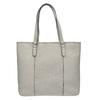 Ladies' handbag with perforated detail bata, gray , 961-2711 - 26