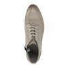 Leather ankle-cut shoes bata, brown , 596-2645 - 19