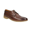 Casual brown leather shoes bata, brown , 826-4807 - 13