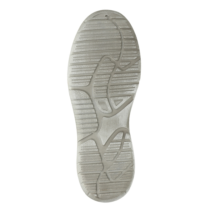 Casual leather shoes weinbrenner, gray , 846-2631 - 26