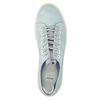 Ladies' leather sneakers bata, blue , 523-9601 - 19