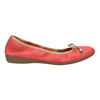 Red ballet pumps with flexible topline bata, red , 526-5617 - 15