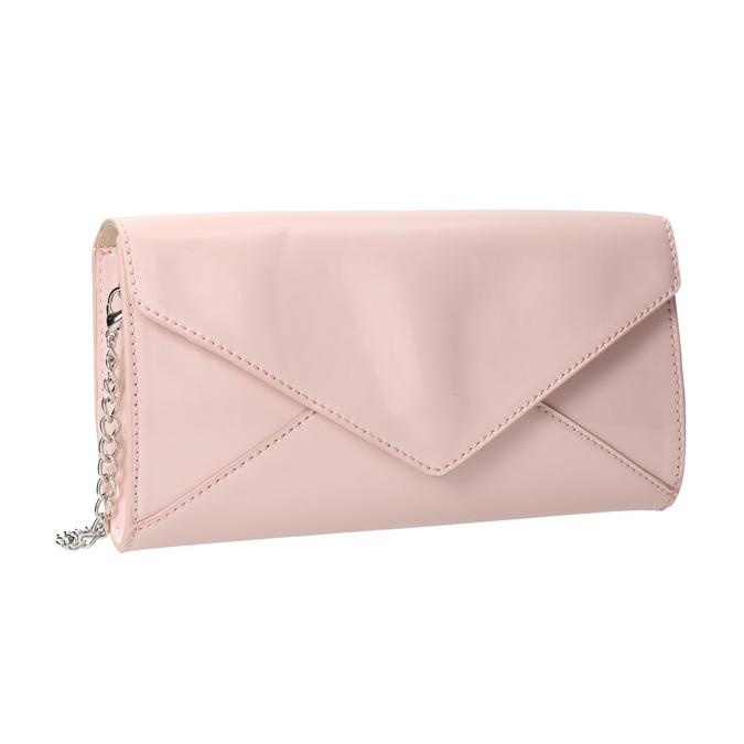 Pink envelope handbag for ladies bata, pink , 961-5685 - 13