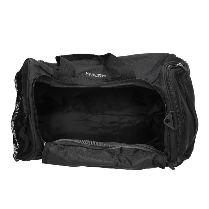 Black travel bag american-tourister, black , 969-6164 - 15
