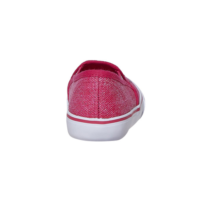 Girls' slip-on shoes with rhinestones north-star, pink , 229-5193 - 17