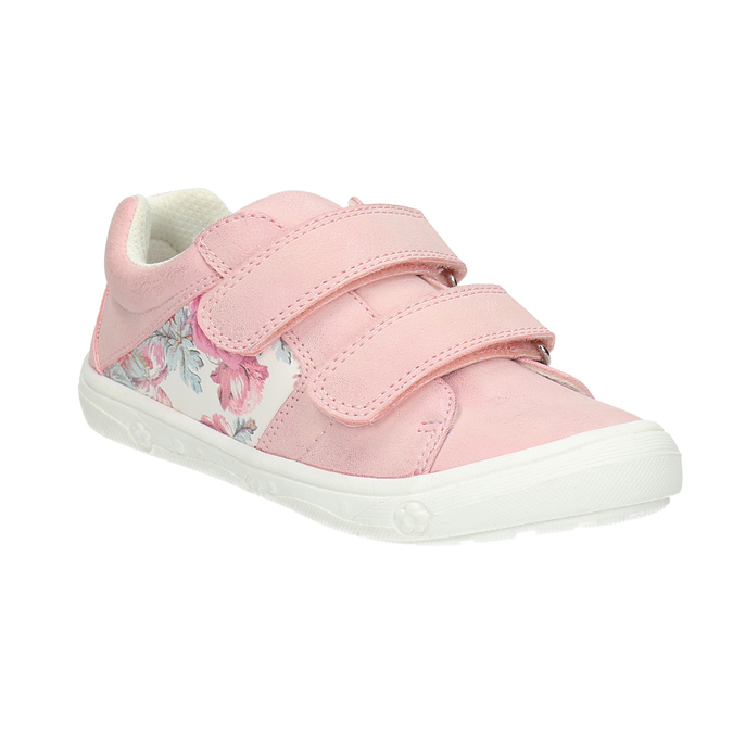 Children's sneakers with floral pattern mini-b, pink , 221-5605 - 13
