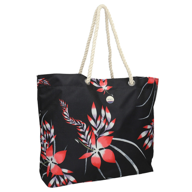 Beach bag roxy, black , 969-6059 - 13