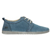 Casual leather shoes weinbrenner, blue , 523-9475 - 15