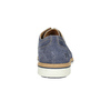 Leather shoes on a contrasting sole weinbrenner, blue , 823-9607 - 17