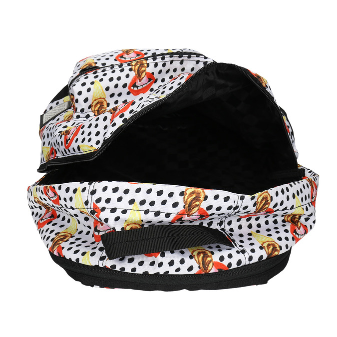 Backpack with pattern and polka dots vans, multicolor, 969-0082 - 15