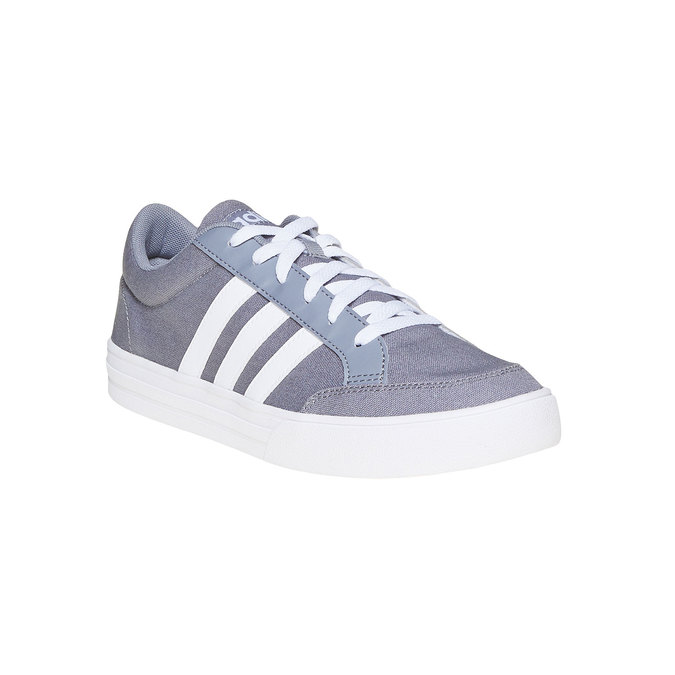 Men's grey sneakers adidas, gray , 889-2235 - 13