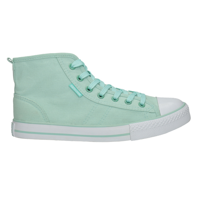 Menthol ankle sneakers north-star, turquoise, 589-7442 - 15