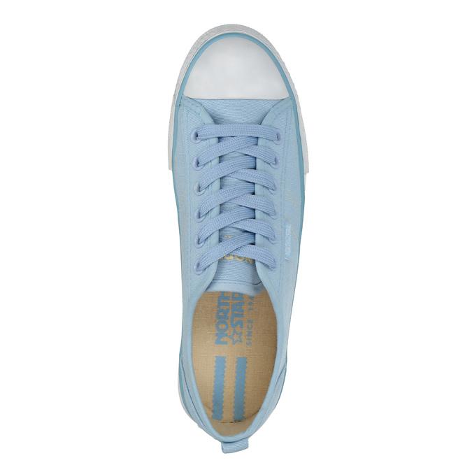 Ladies' blue sneakers north-star, blue , 589-9443 - 19