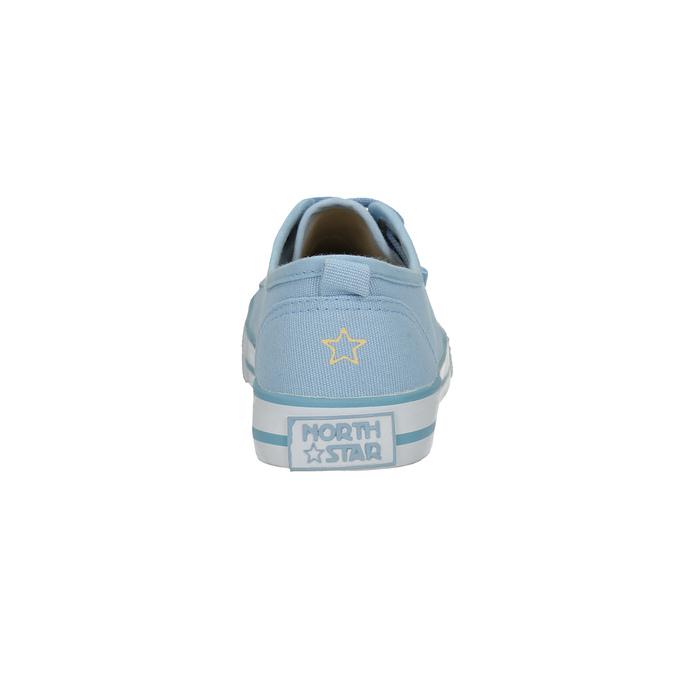 Ladies' blue sneakers north-star, blue , 589-9443 - 17
