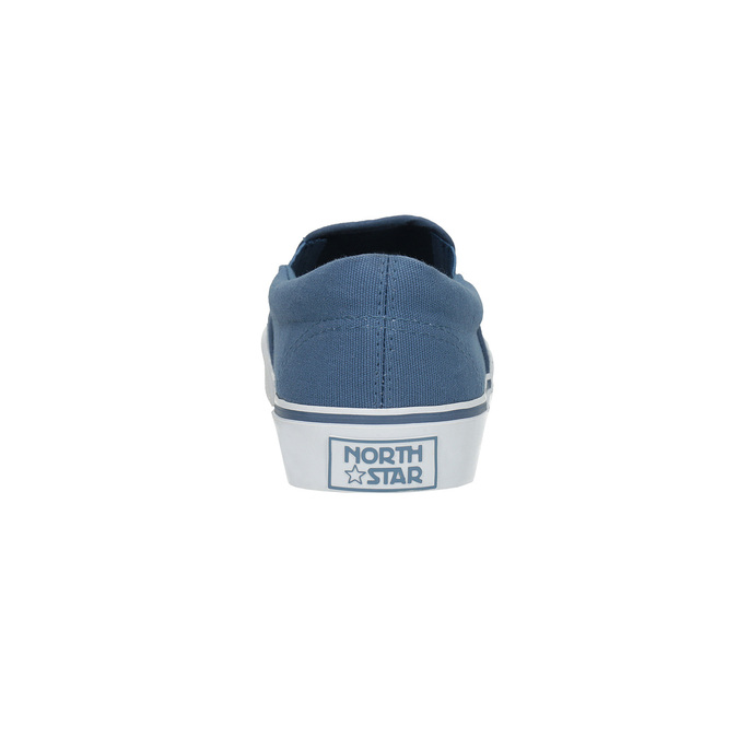 Blue slip-ons north-star, blue , 889-9286 - 17