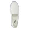 Ladies' slip-ons tomy-takkies, white , 589-1171 - 19