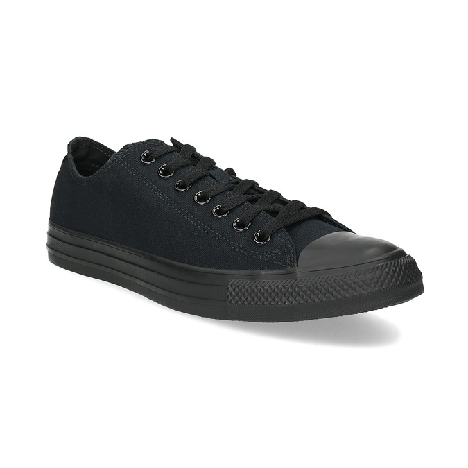 Men's black sneakers converse, black , 889-6279 - 13