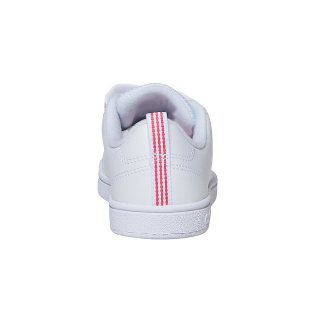 Kids' white sneakers adidas, white , 401-5133 - 17