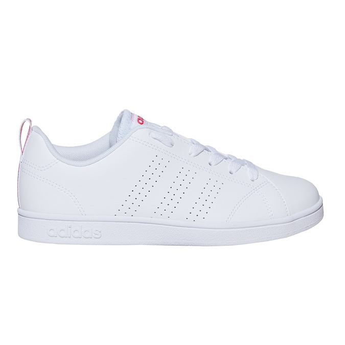 Kids' white sneakers adidas, white , 401-5133 - 15