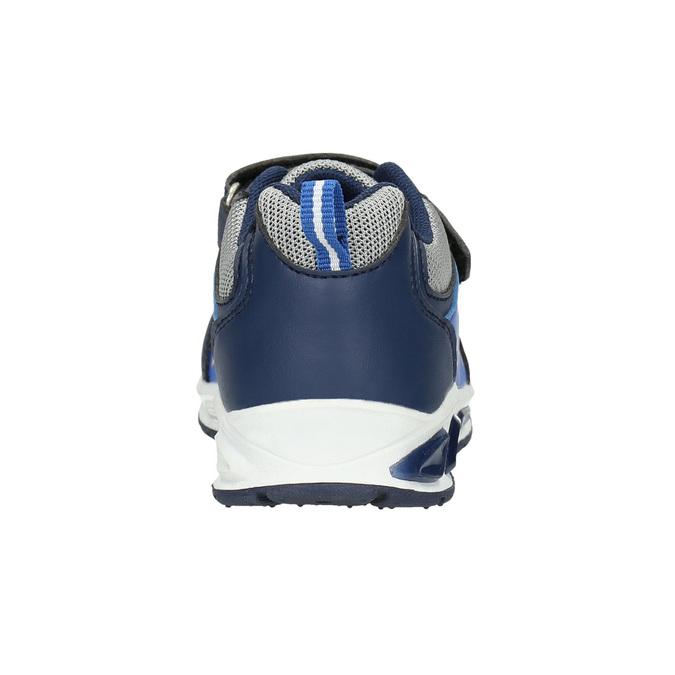 Boys' sneakers with print mini-b, blue , 211-9183 - 17
