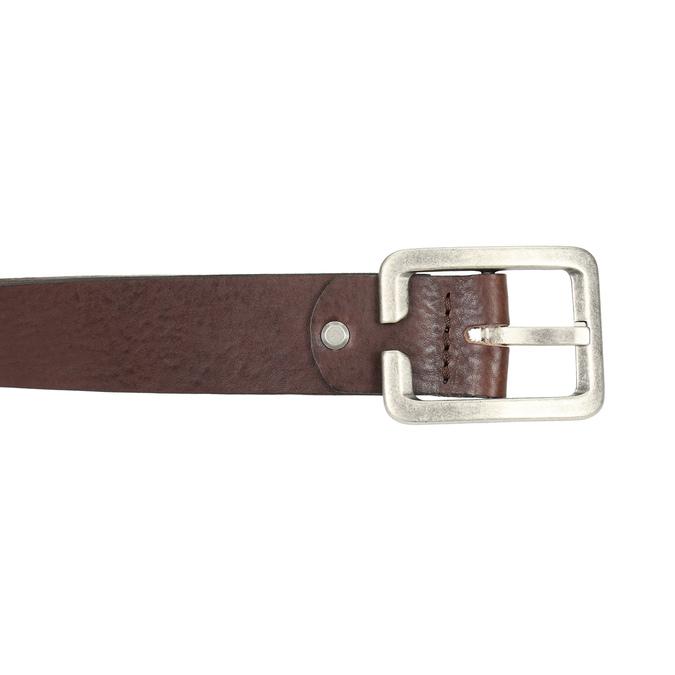Men's brown belt bata, brown , 954-4190 - 26