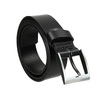Men's leather belt, black , 954-6196 - 13