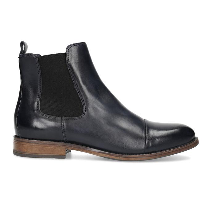 Ladies' leather Chelsea boots bata, black , 594-9636 - 19