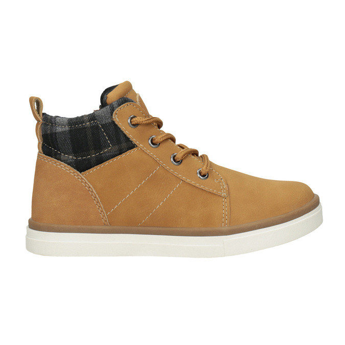 Children's High Top Shoes mini-b, brown , 291-8172 - 26
