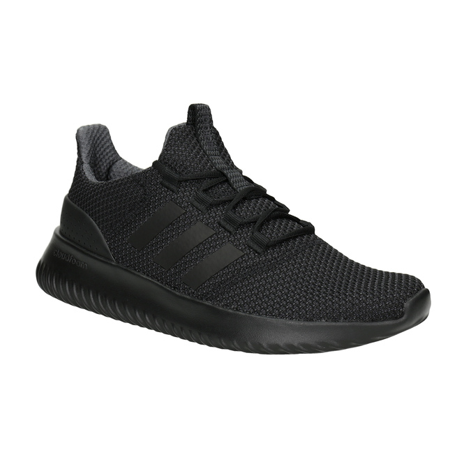 Men's Black Sneakers adidas, black , 809-6204 - 13