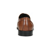 Brown Leather Derby Shoes bata, brown , 826-3646 - 16