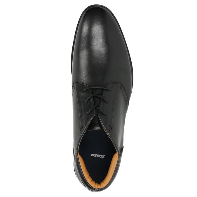 Men's leather ankle boots bata, black , 824-6913 - 26
