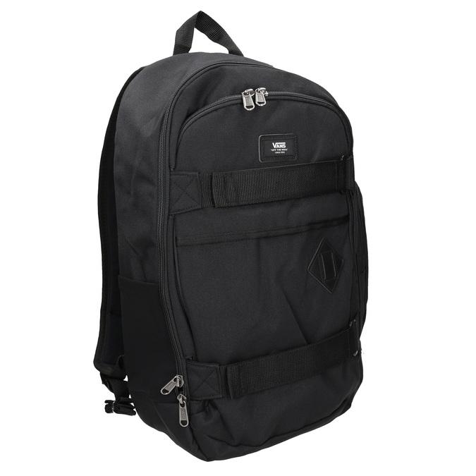 Black Backpack with Buckles vans, black , 969-6098 - 13