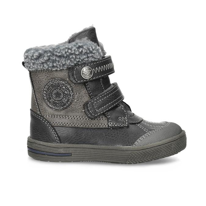 Children's Winter Boots bubblegummer, gray , 191-4619 - 19