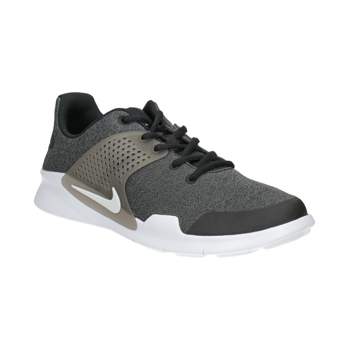 Men's Sneakers with Distinctive Sole nike, black , 809-6185 - 13