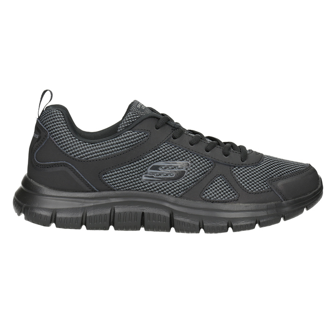 Men's Black Sneakers skechers, black , 809-6331 - 26