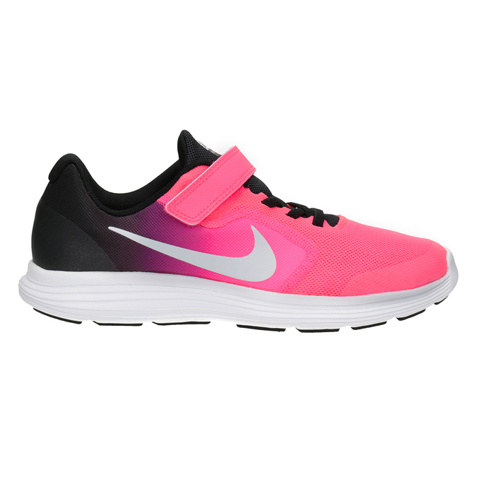 Pink Girls' Sneakers nike, pink , 309-5132 - 26