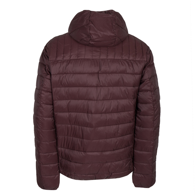 Men's Quilted Jacket with Hood bata, red , 979-5143 - 26